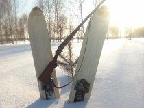 Обкатка лыж