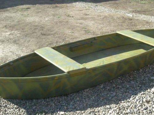Необычный метод обшивки лодки