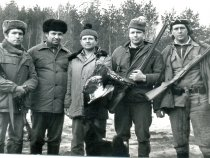 Фото на память после охоты на токах