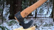 Промысловый топор Соболь от Топорсиба. Обзор, тестирование в лесу.