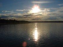 Река Енисей в районе п. Бор Туруханский район