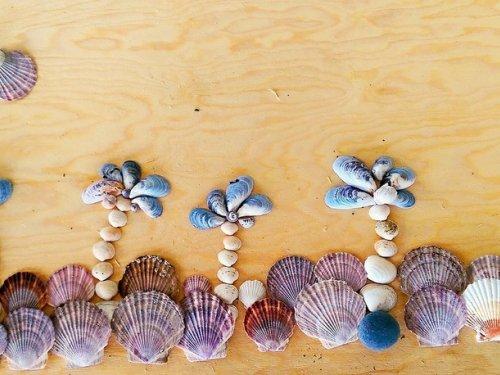 Пейзаж из даров моря