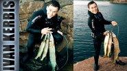 Первый опыт подводной охоты на щуку на скальнике в Красноярском водохранилище 2017.