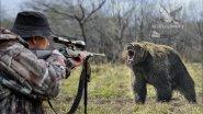 Охота на медведя. Лучшая подборка выстрелов.