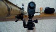 Как сделать самому качественное надёжное крепление для съёмки экшен камерой на стволе ружья