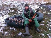 Разведка северной утки