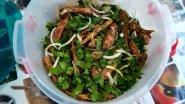 Рецепт правильного приготовления нежно жаренной барабули с соусом цацибели зеленью и специями !!!