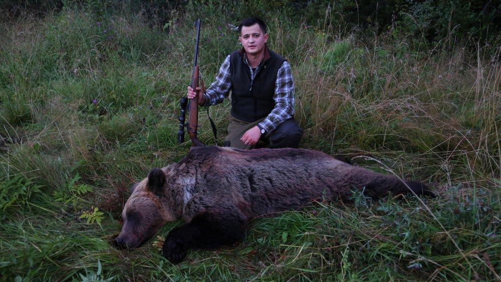Мой первый медведь!