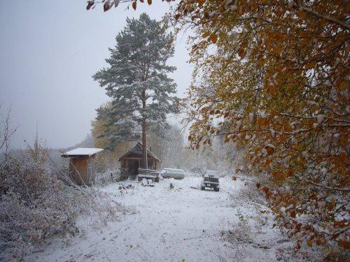 И выпал снег