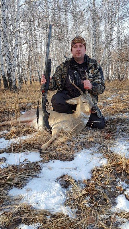 Загонная охота в Курганской области