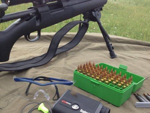пристрелка на 300