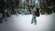 Очередной поход в лес в январе / тестирую новую камеру / карабин СКС / МаслаковTV