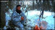 Охота в январе на лыжах. Поиски боровой птицы