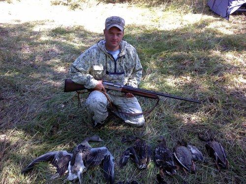 Охота в Киприно