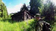 Поход в лес, ищем грибы, вдоль заброшенной деревни.
