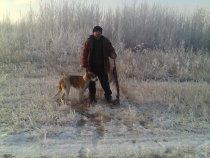 с охоты