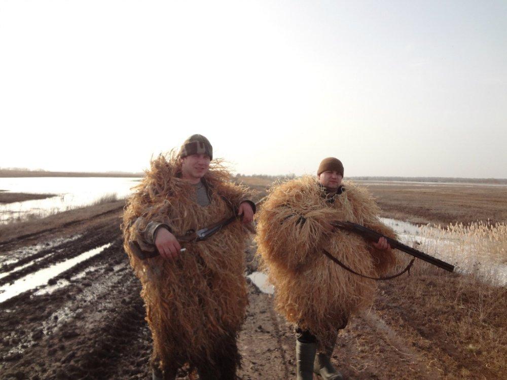 На весенней охоте с братом
