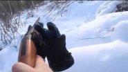 Беляк из под лыж, без обработки
