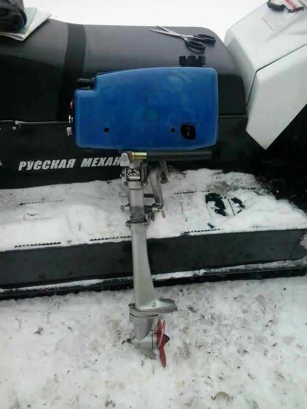 Готовь лодочный мотор зимой.