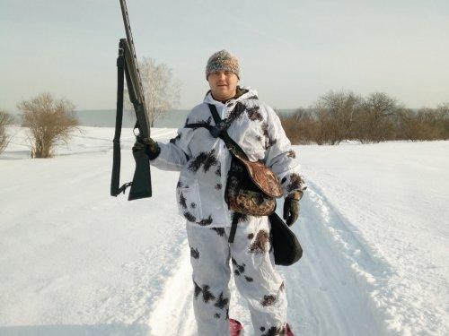 Сибирскому охотнику в -30 ЖАРКО!!!!!!!