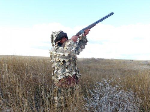 Крутой охотник.