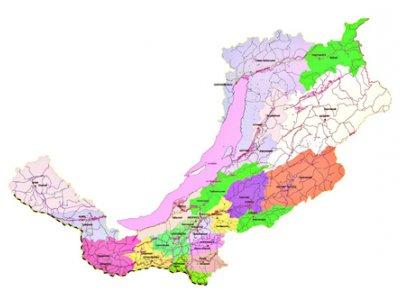 Карта охотничьих угодий Республики Бурятия