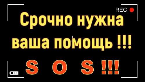 Срочно нужна ваша помощь !!! S  O  S !!!