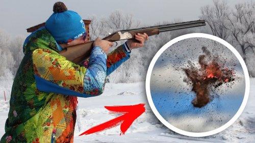 Новосибирские охотники устроили стрельбу в черте города