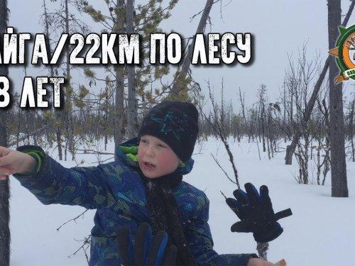 Тайга/22км по лесу в 8 лет/Будущий таёжник/Tayga adventures