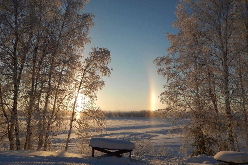 солнечное отражение