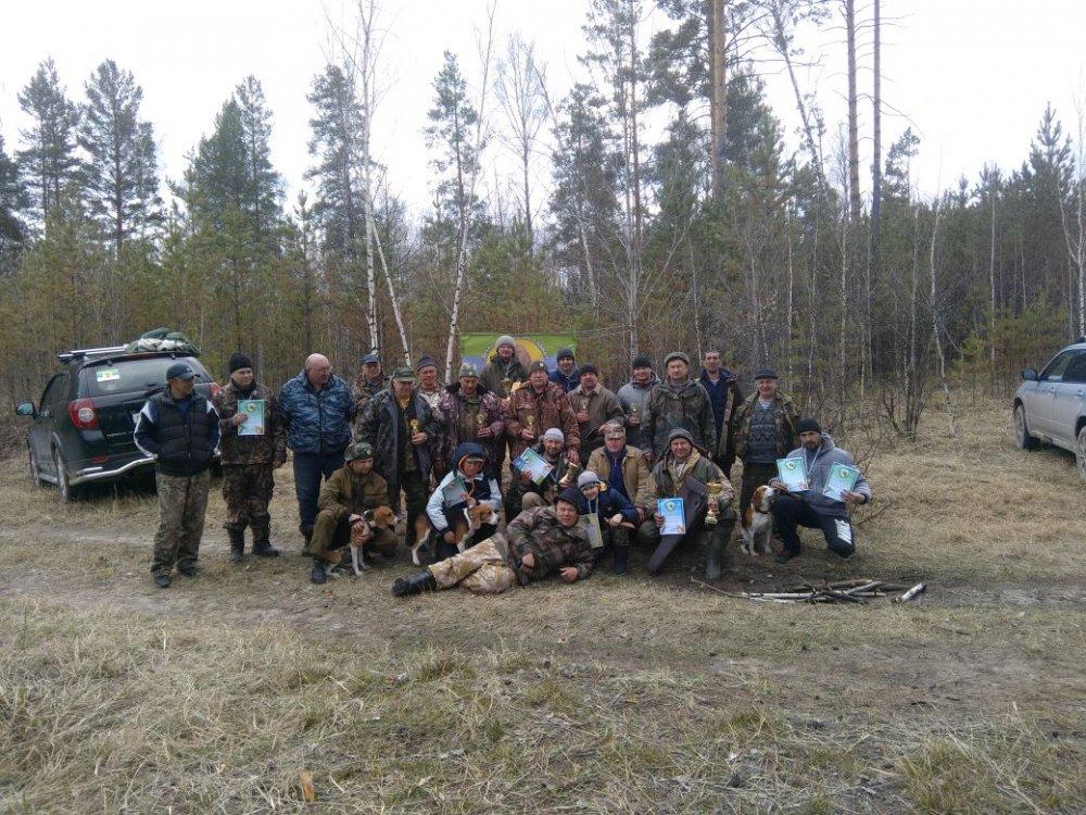 На состязаниях Эстонских гончих