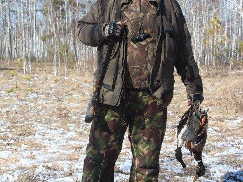 Первое утро весенней охоты