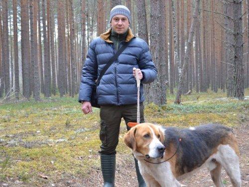 Подружились - гость и Макс:)
