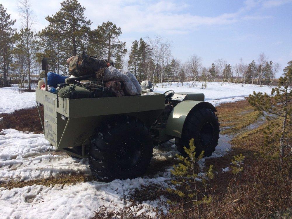 Средство доставки на болото
