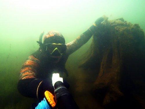 """Подводная охота. Отдых в Коми, чем заняться когда погода полная """"Г"""""""