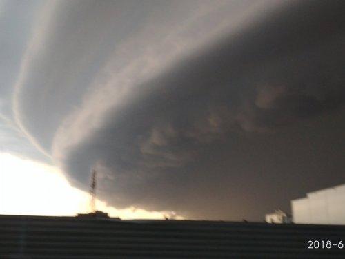 Ураган. Барнаул,