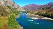 Недостроенная Катунская ГЭС на Алтае