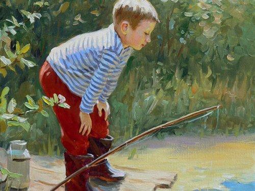 Рыбалка из детства.