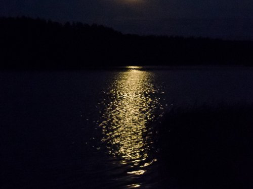 Лунная дорожка.