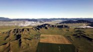 Горный Алтай. Усть-Канский район  с высоты птичьего полета