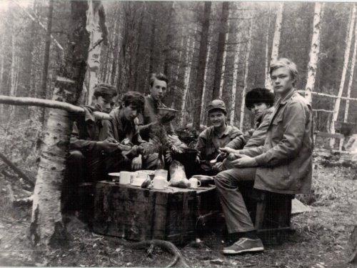 Иркутская обл. Жигаловский р-н. Сентябрь 1990 г. На практике по дикоросам.