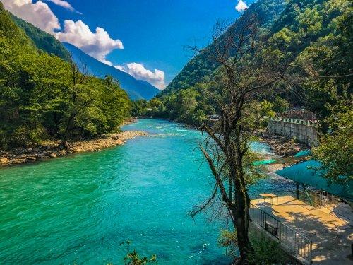Река Бзыбь. Абхазия