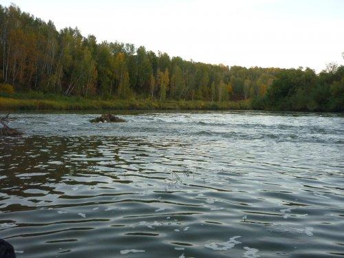 На реке Иня.