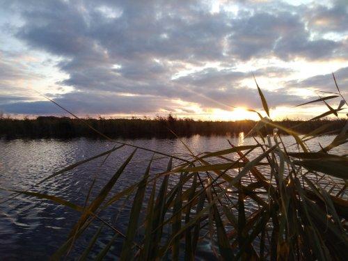 Провожая закат