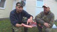 Необычные случаи на охоте. Точный выстрел - пуля в пулю. Якутский нож в деле.