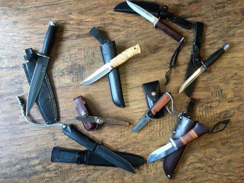 Размышления на тему идеального охотничьего ножа. Или мои изыскания на данную риторическую тему.