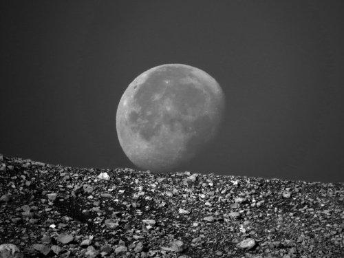 Луна на земле)
