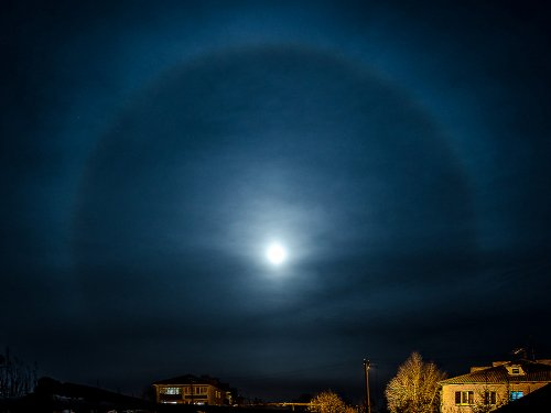 Лунное гало.