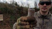 Стреляем гречкой из ружья.