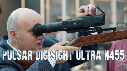Pulsar Digisight Ultra N455 обзор возможностей нового ночного прицела